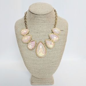 💥3 for $25💥 Shimmery Pink Statement Necklace